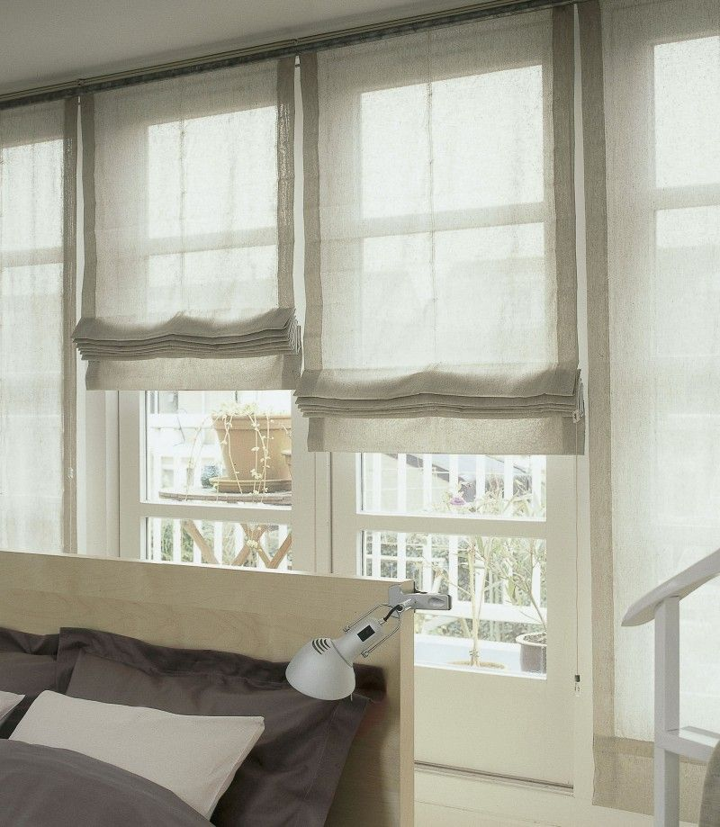 Roman Shades Weren T Built In A Day What Until You See Linen Roman Shades Curtains With Blinds Relaxed Roman Shade