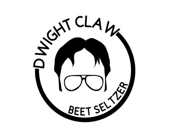 Dwight Schrute Dwight Claw Beet Seltzer Svg Png Eps Dxf Digital Download Vozeli Com