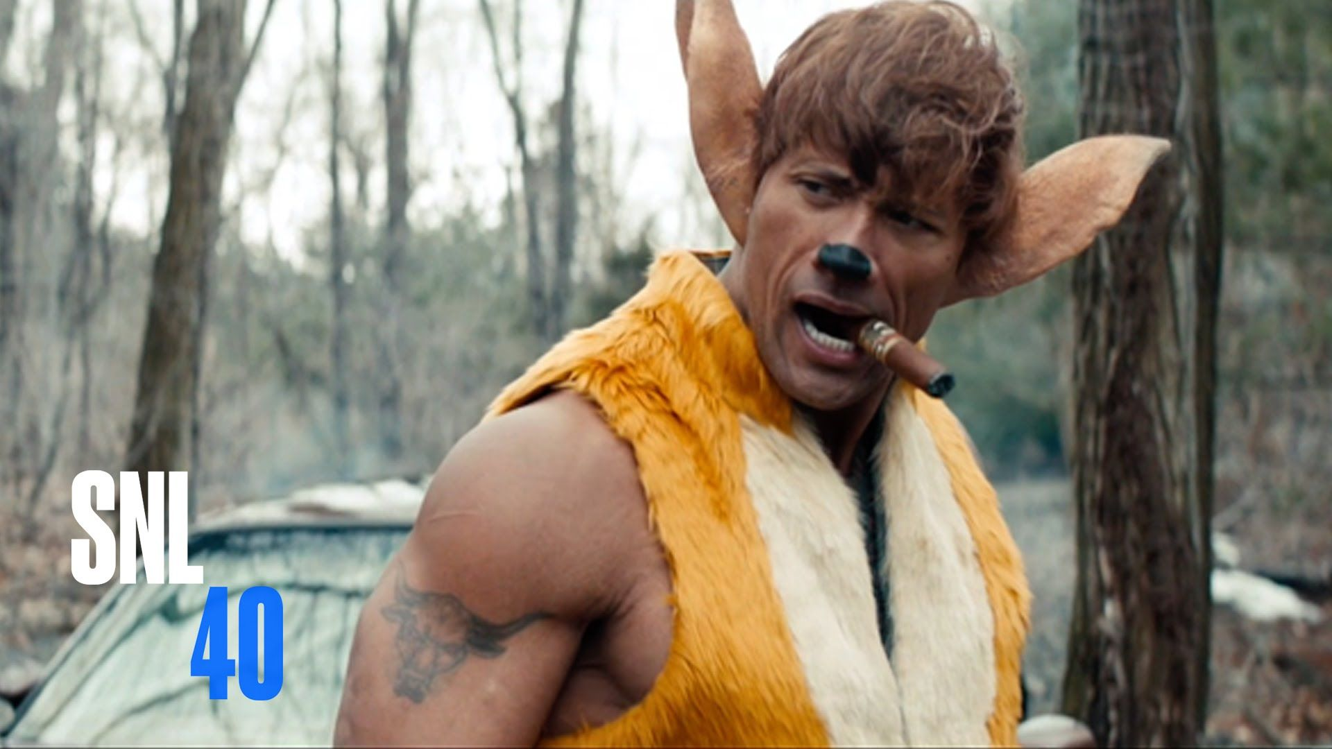 Disney's new live action remake: Bambi with Dwayne Johnson ...