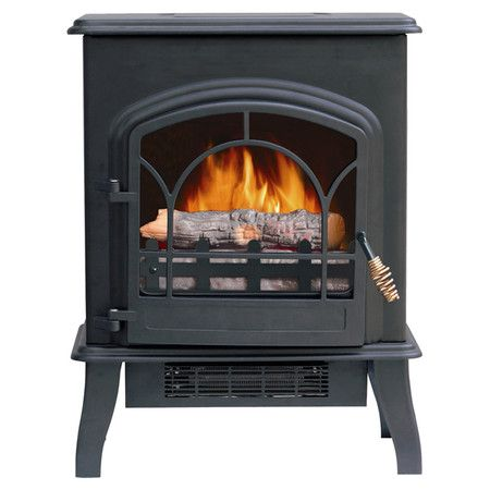 Electric Stove With Thermostat Heat Control And An Adjustable Flame Product Electric Stoveconstruction M Electric Stove Electric Stove Heaters Stove Heater