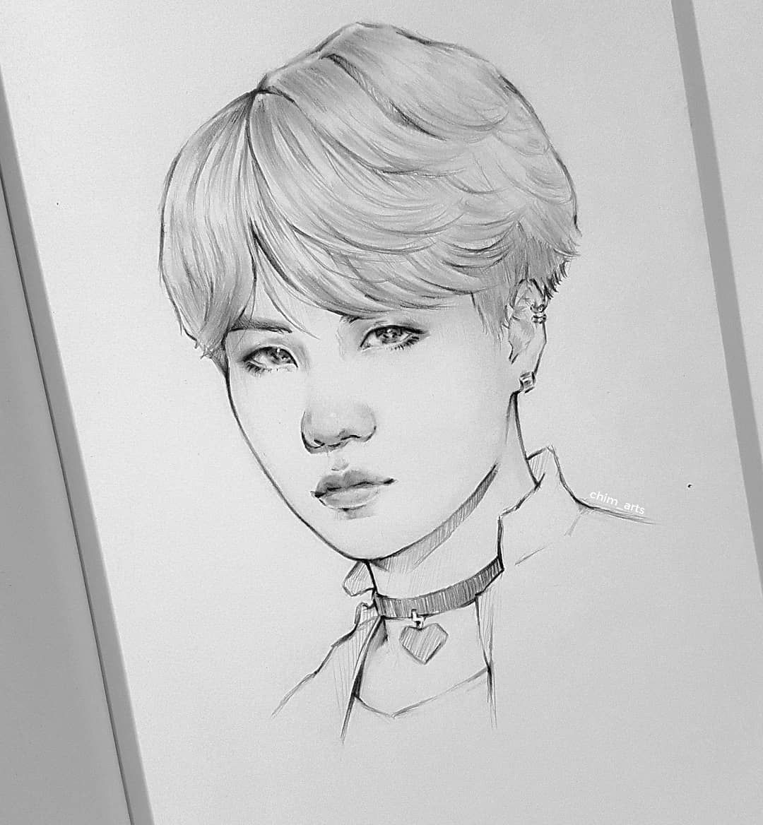 """Photo of Vlada? on Instagram: """"Min Shuga?? I tried to draw this picture not as straightforward as the past. But it turned out as always hd. . #btsart #btsfanart #bts # kpopfanart … """""""