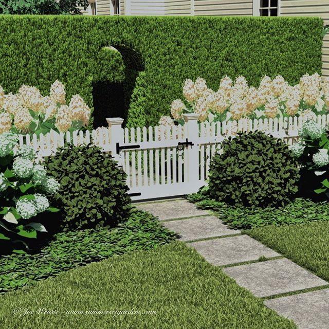 #gardendesign #hedge #plantingdesign #garden #gardens # ...