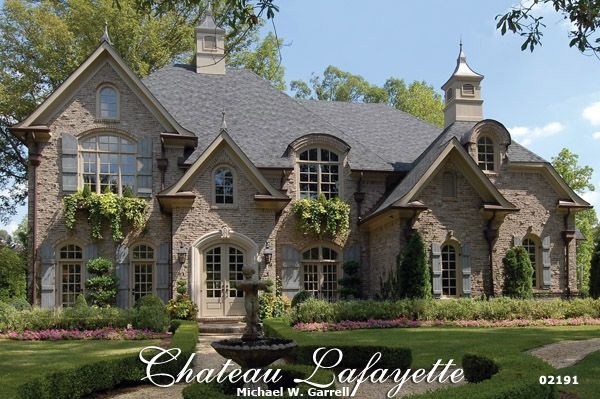 chateau lafayette house plan 02191 front elevation french country house plans