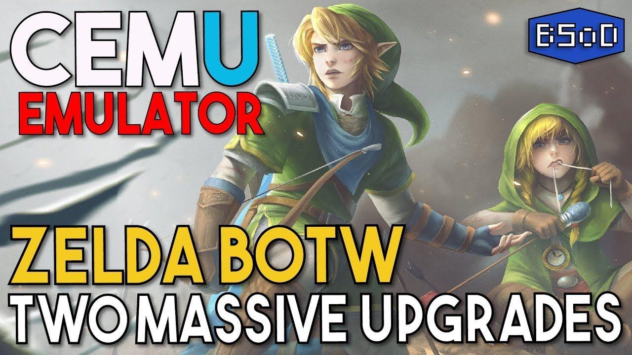 Cemu Emulator | Zelda BOTW Gets Two Massive Updates FPS is