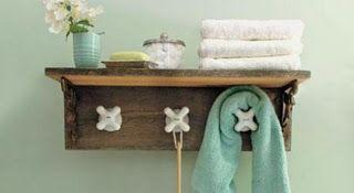 Studio Country: Que tal enfeitar seu banheiro com uma linda pratel...