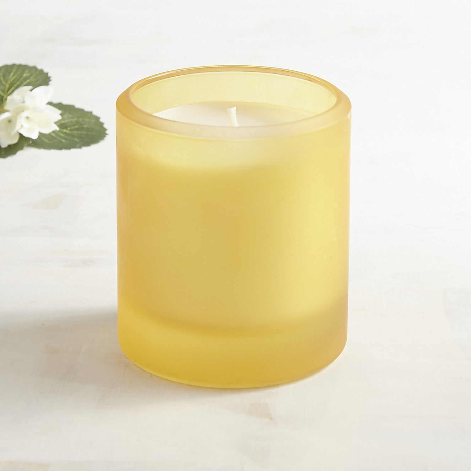 Honeysuckle boxed filled soy candle yellow products pinterest