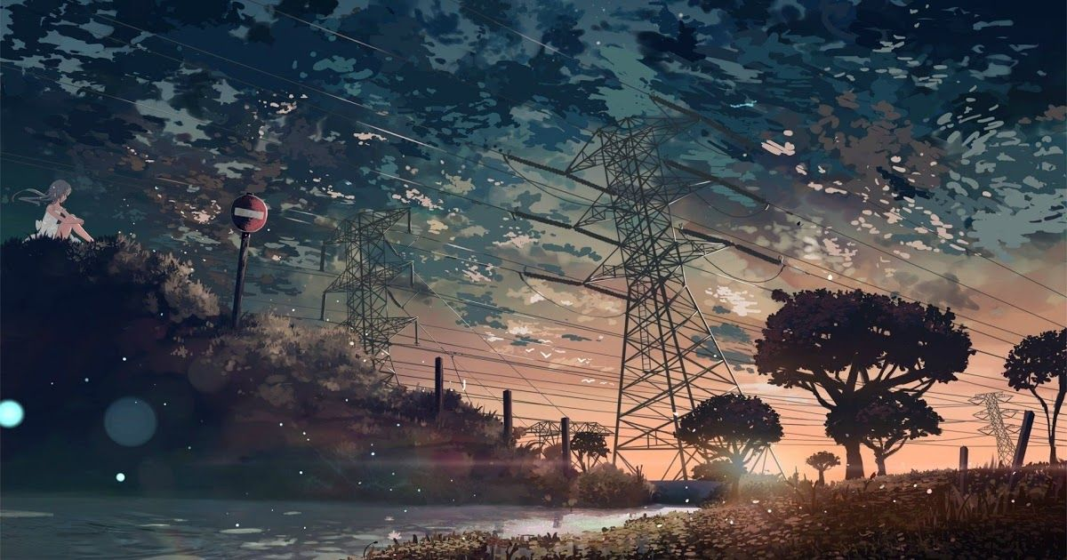 Aesthetic Anime Desktop Wallpapers Top Free Aesthetic 77 Anime Android Wallpapers On Wa Landscape Wallpaper Aesthetic Desktop Wallpaper Desktop Wallpaper Art