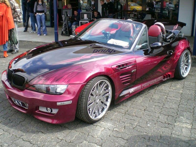 Bmw Z3 M Roadster Purple Bmw