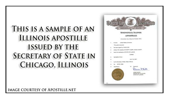 State of Illinois Certificate of Good Standing signed by Jesse White - fresh french birth certificate translation sample