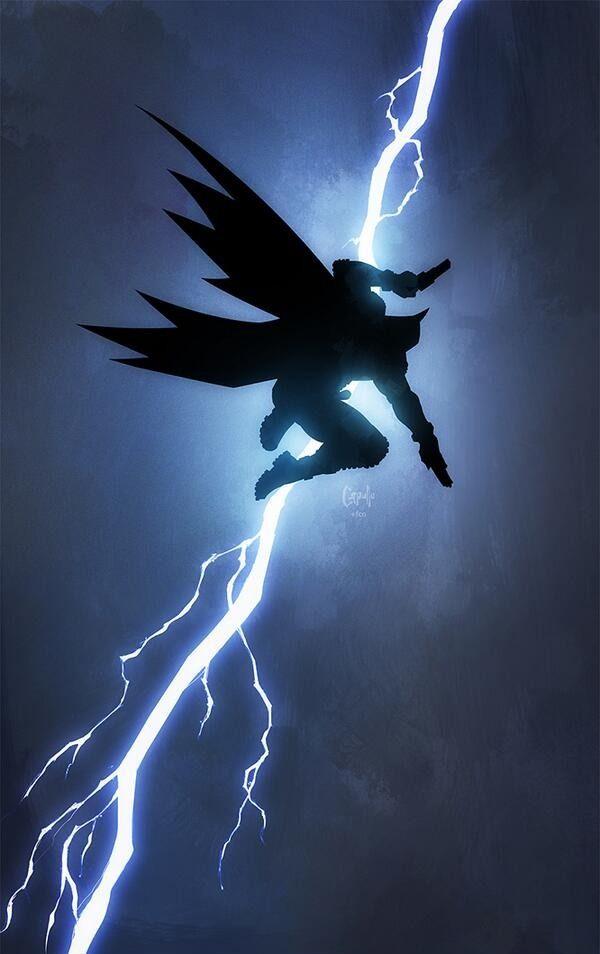 The Dark Knight Returns Homage By Greg Capullo Heroinas Dos