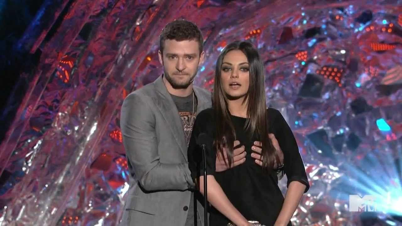 Justin Timberlake and Mila Kunis. | Mila kunis, Justin