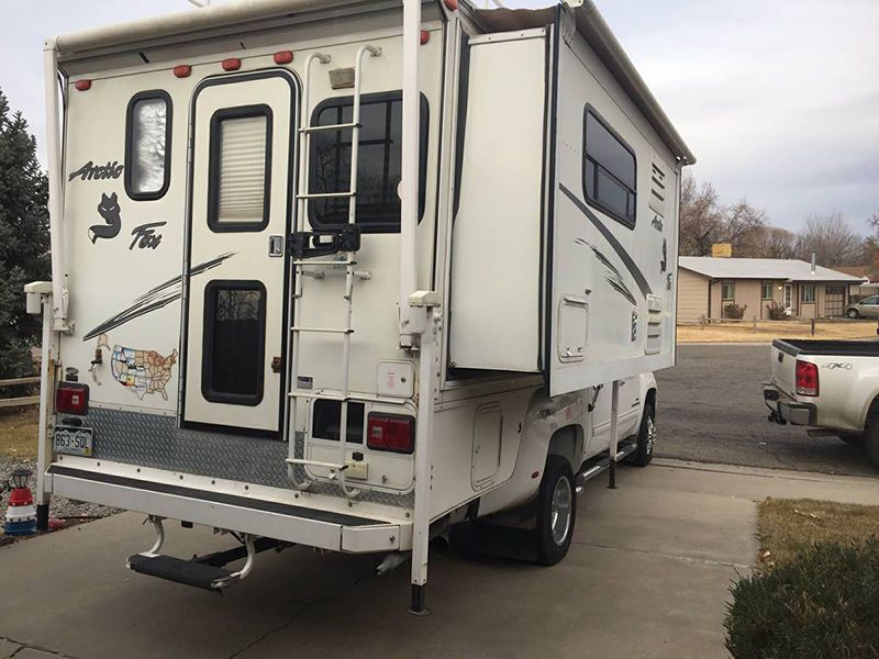 2014 Northwood Wolf Creek 850 Truck Camper Arctic Fox Used
