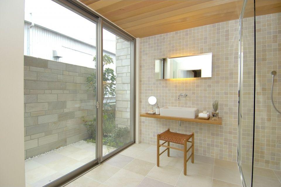 木質天井ガラス張り 写真 インテリア 積水ハウス インテリア