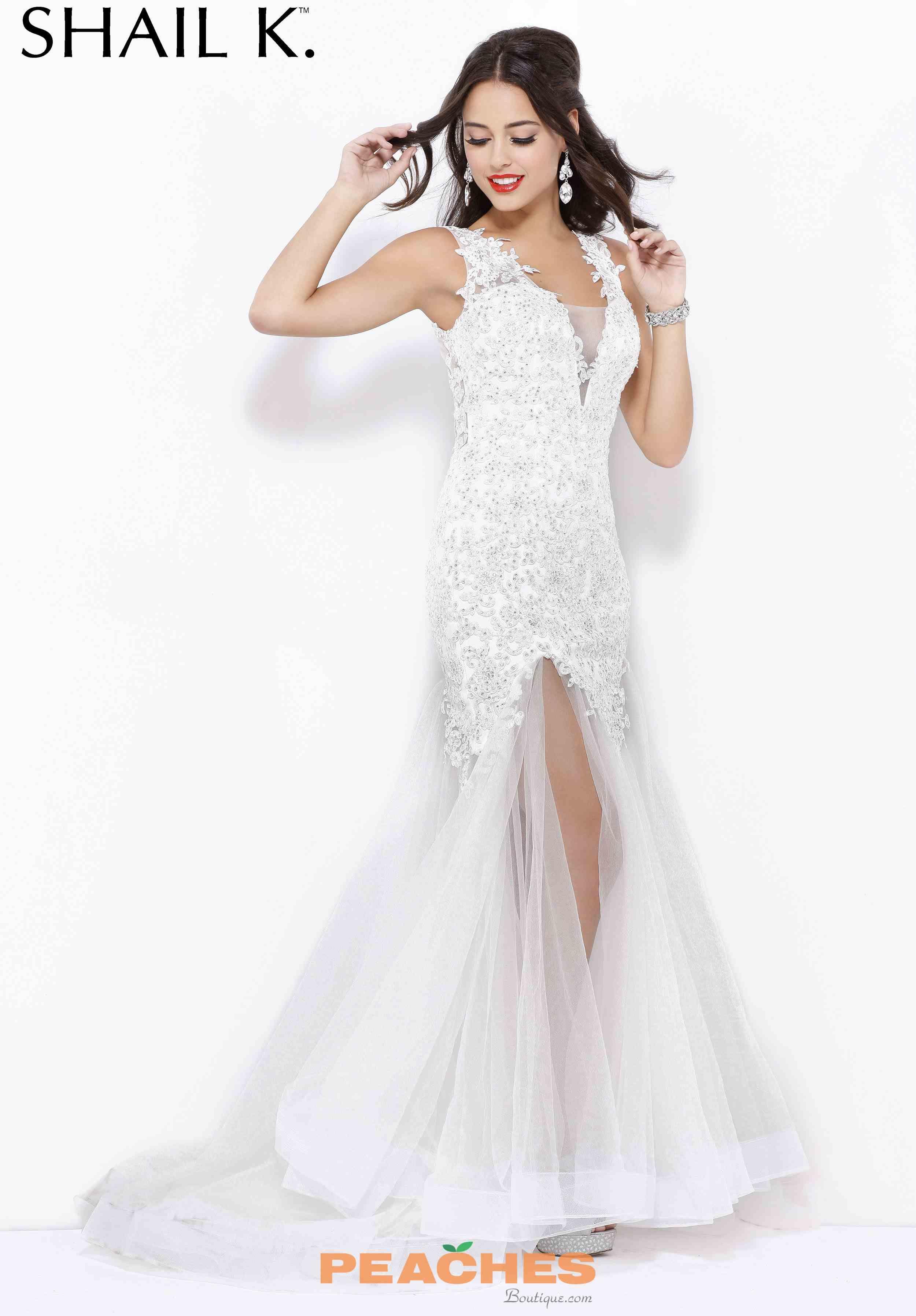 320030f594f Sexy Lace Shail K Prom Dress 3960