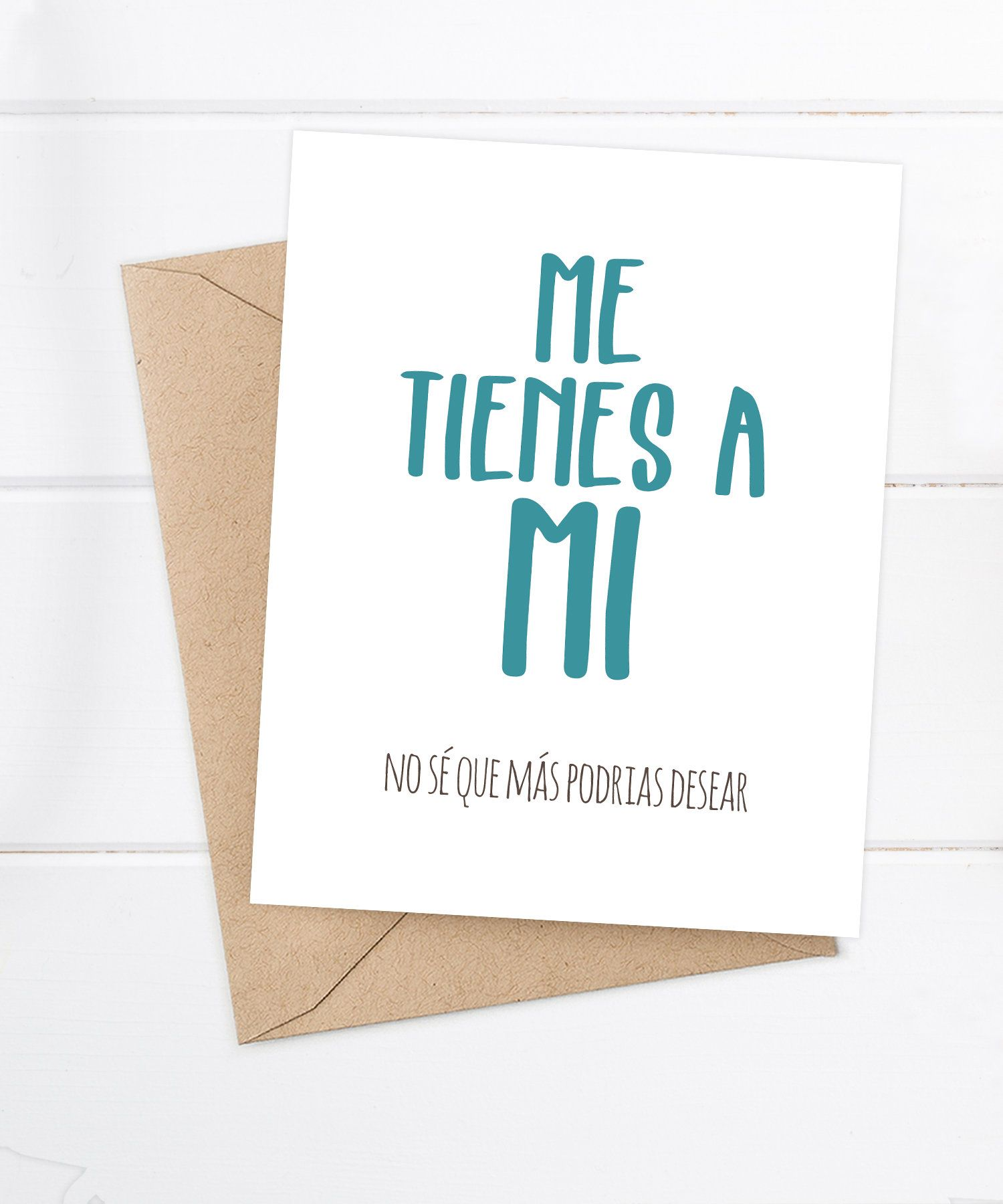 Funny Spanish Cards Tarjetas En Espanol By FlairandPaper On Etsy Birthday