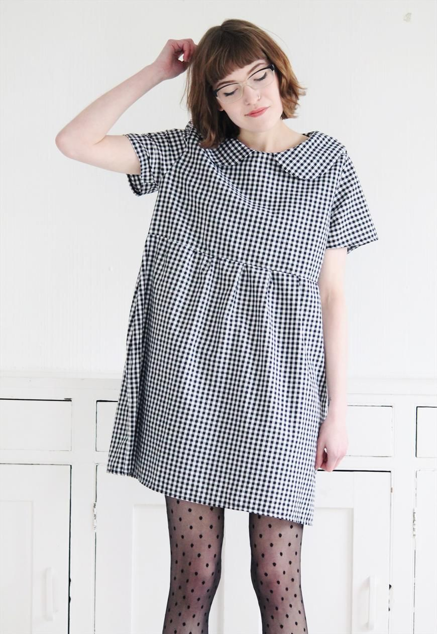 Jessica Loose Gingham Smock | Mod dolly | ASOS Marketplace