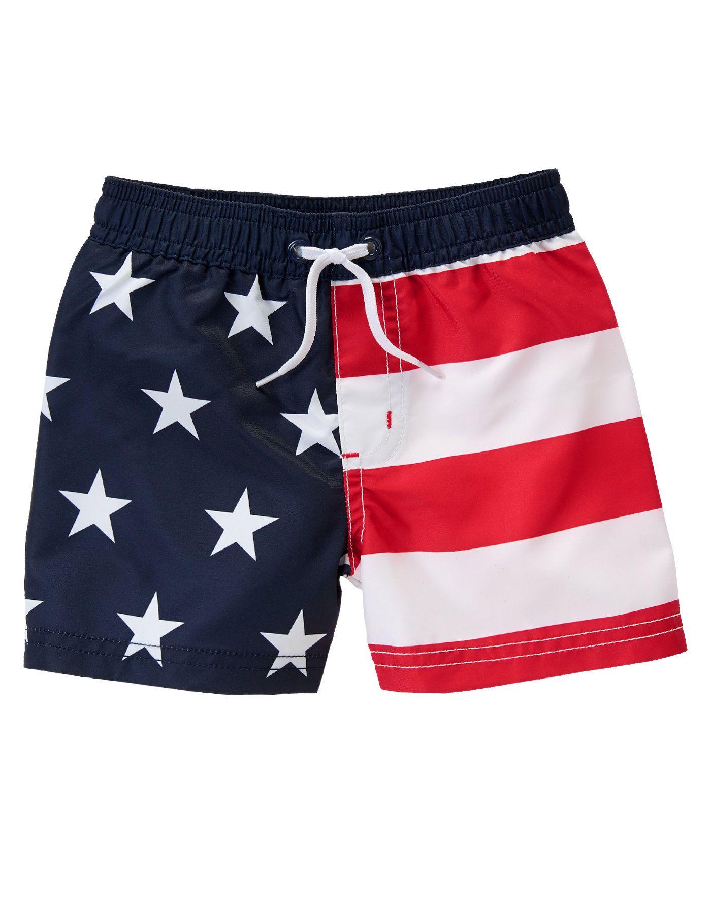 American Flag Swim Shorts Shorts Curtos Bermudas Shorts Roupas