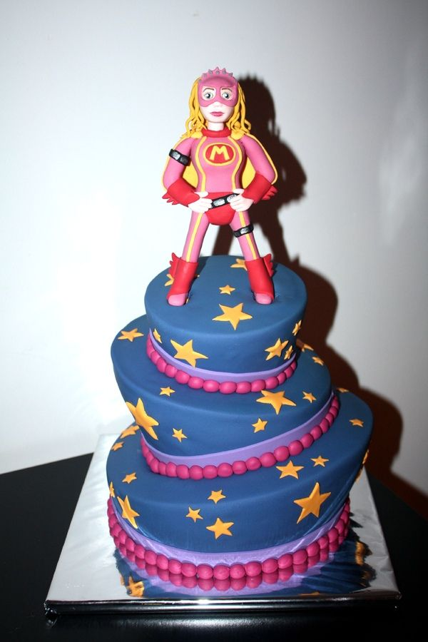 girl superhero cake mega is a for in the 4497