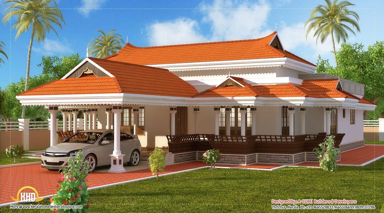 Garden Roof Design Kerala Kerala House Design Kerala Houses Unique House Design