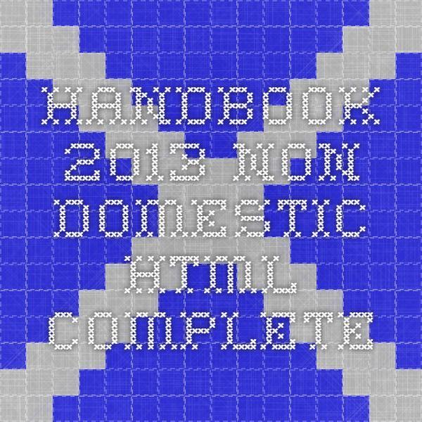 Handbook 2013 - Non Domestic - HTML Complete