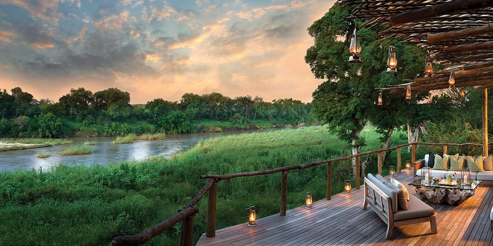 Lion Sands Game Reserve is a private game reserve situated