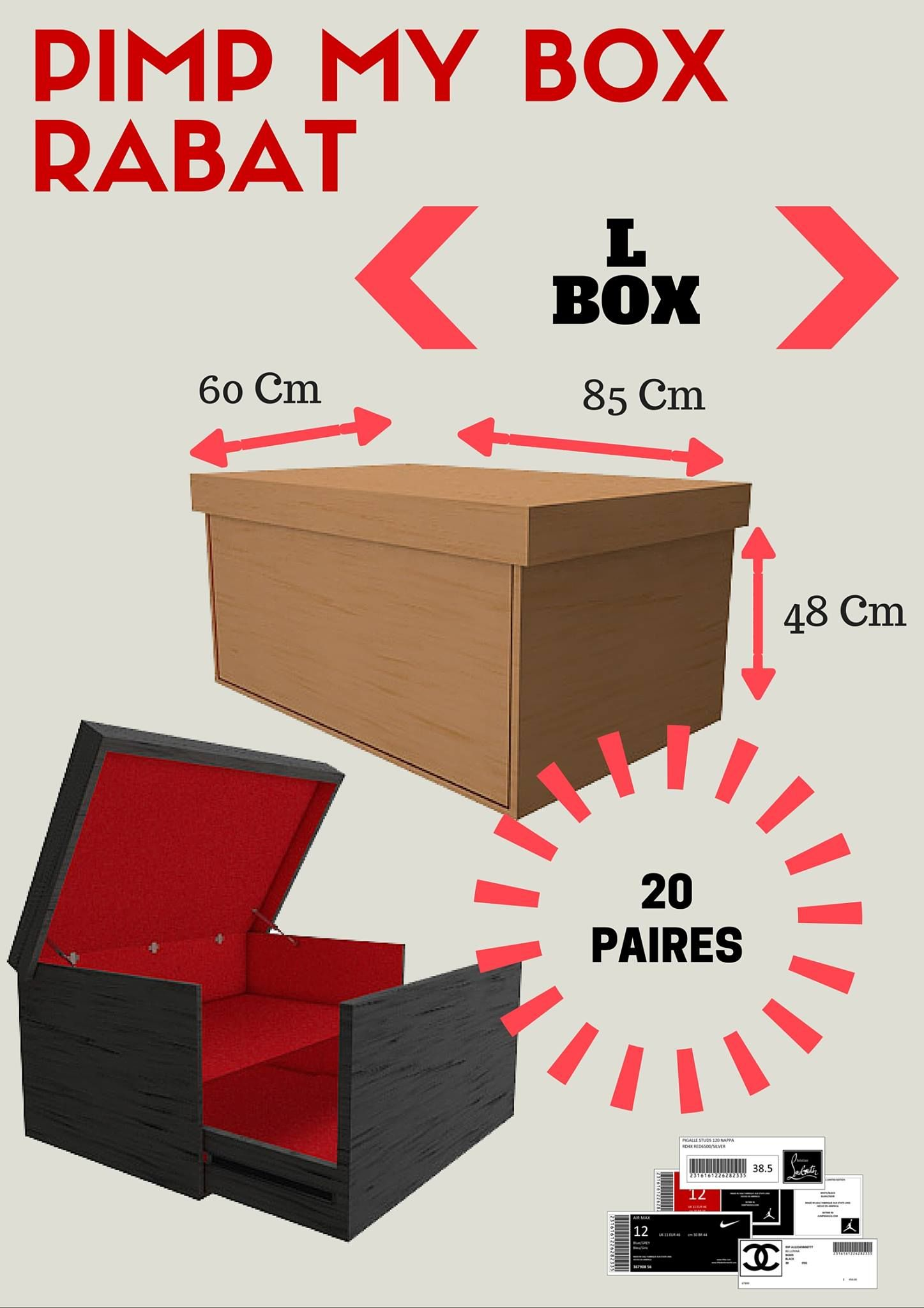 Giant Shoe Box …