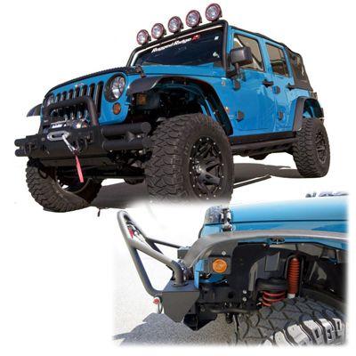 Rugged Ridge Flat Fender Flare Set For 07 Up Jeep Wrangler