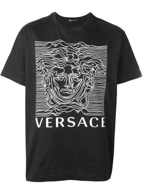 VERSACE Joy Division Style T-Shirt.  versace  cloth  t-shirt ... bf814235b8a