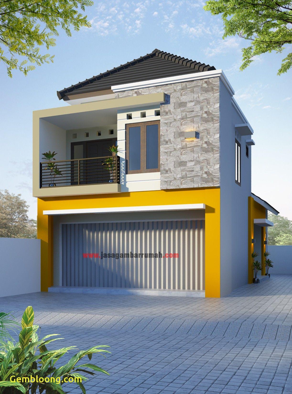 Ruko Minimalis 1 Lantai Tampak Depan Desain Depan Rumah Arsitektur Rumah Arsitektur