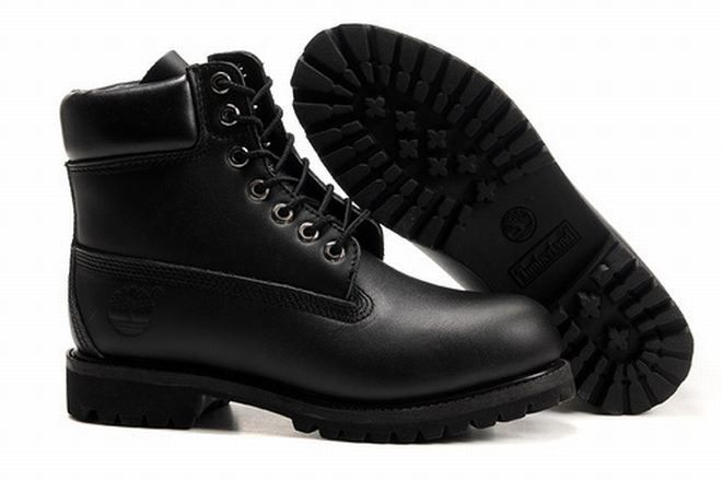 timberland black mens boots sale