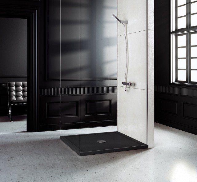 Style luxe la salle de bain receveur de douche moderne | Receveur ...