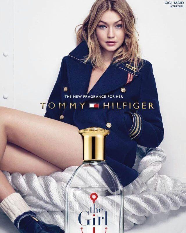 0159c0f0e9ea Tommy Hilfiger The Girl Perfume Ad featuring Gigi Hadid ...