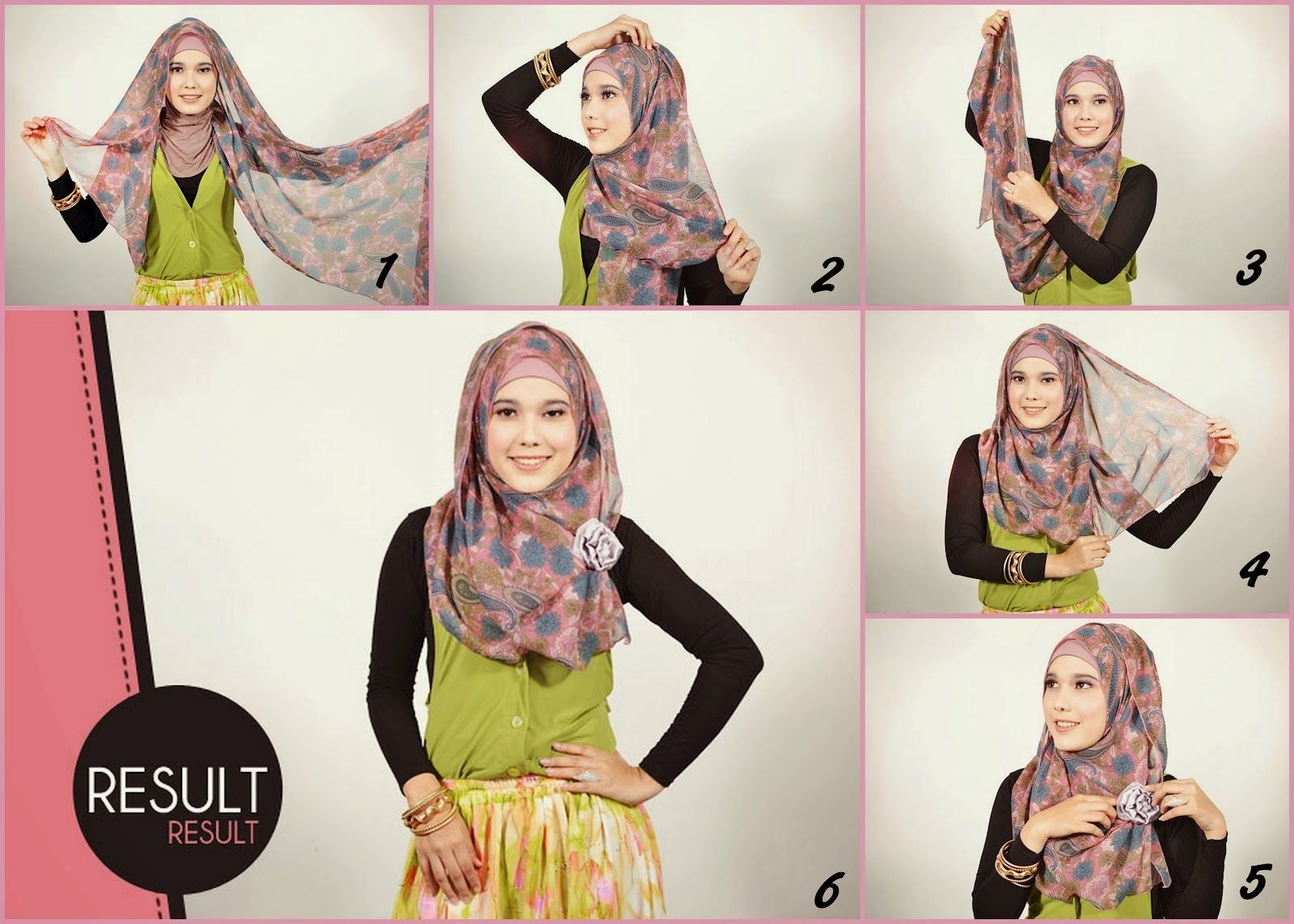 Tutorial Hijab Pasmina Simple Hijab Pinterest Simple Models