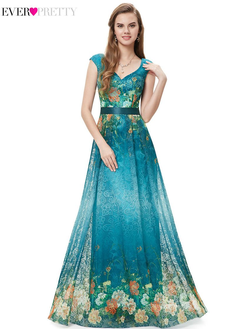 Clearance Sale] Elegant Prom Dresses Ever Pretty HE08386 Long A Line ...