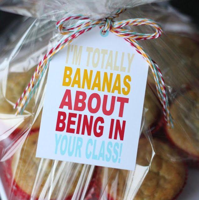 The Twinery: Teacher Gift Idea: I'm Totally Bananas!