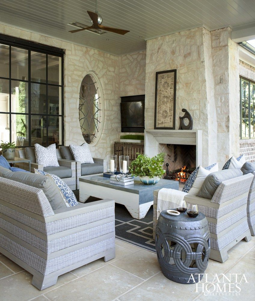 Home garden furniture  Elements Of Design  Outdoor lounge Coastal and Contemporary
