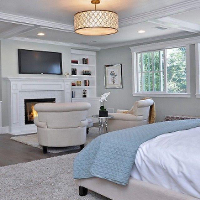 Great master bedroom layout! . . .  The Diamond Pendant . . . .  #Diamond #chandelier by #maximlighting #home #houzz#interiordesign #interiorstyle #interiorforyou #interiordecorating #interior_and_living #interiordesignguide #inspire_me_home_decor #home #