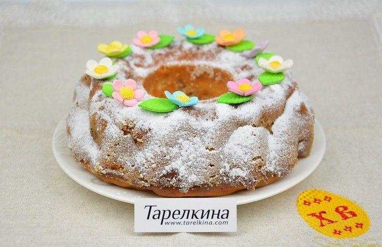 Кулич творожный   Рецепт   Идеи для блюд, Кулич и Десерты