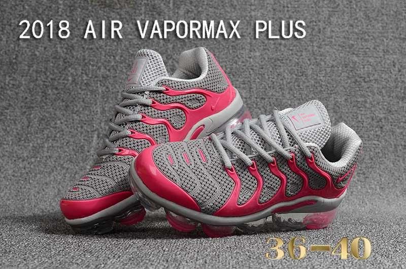 info for 2f4c2 31544 New Nike Air Vapormax TN Plus 2018 Grey Pink Women   Nike ...