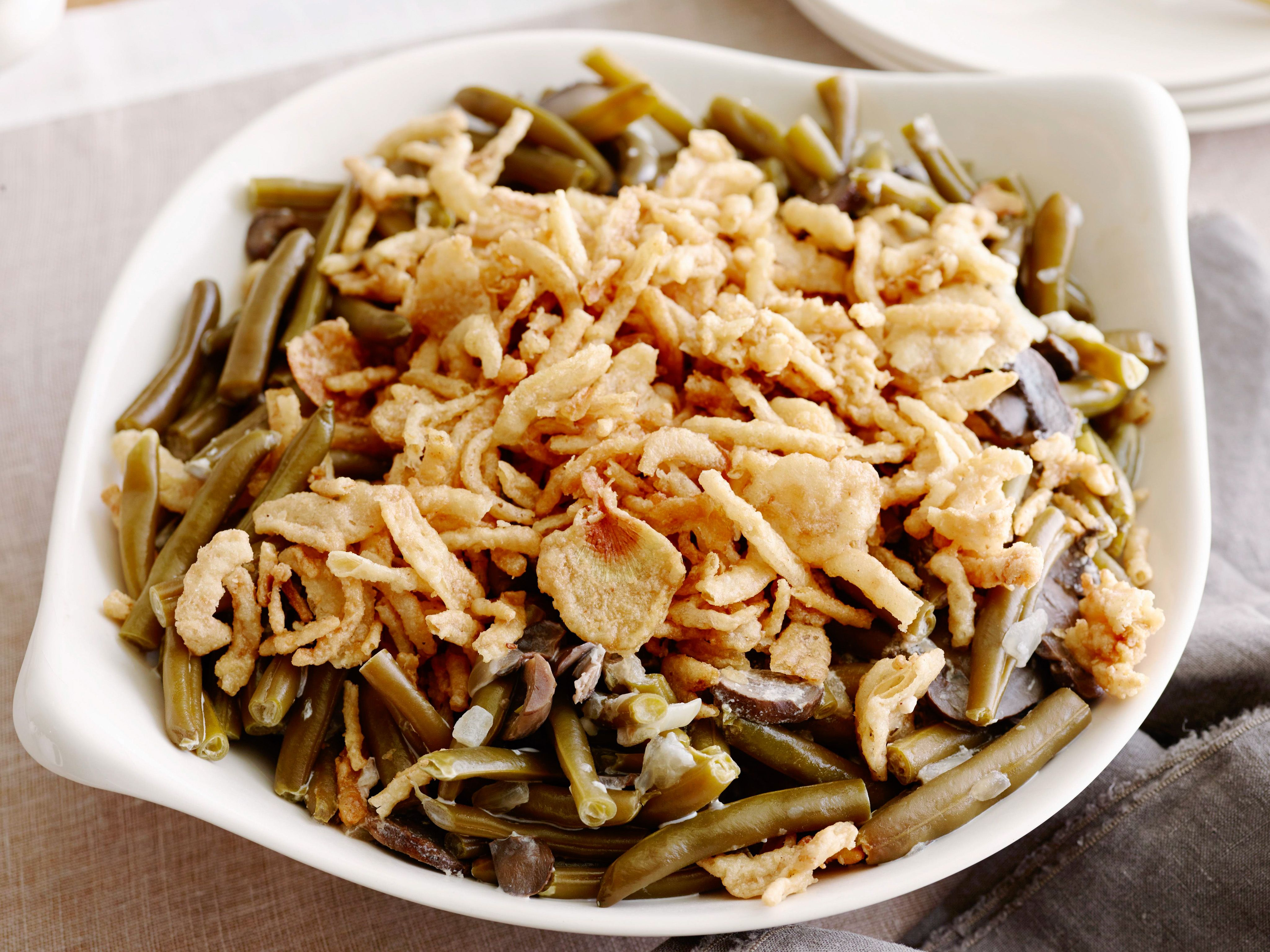 Slow cooker green bean casserole recette pinterest forumfinder Images