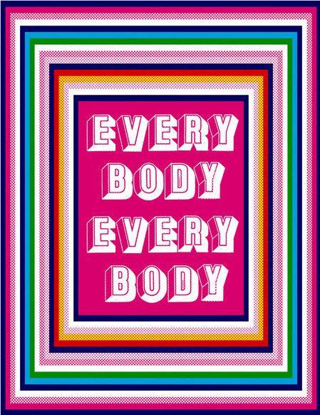 Edie Fake - Everybody Everybody (Gender Neutral Bathroom SIgn)