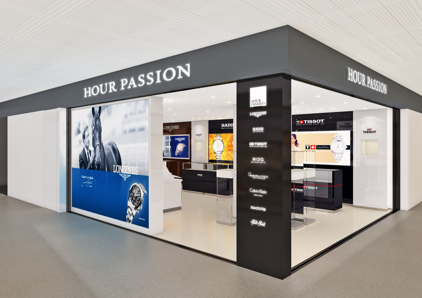 Hour Passion came to Kansai International Airport. #hourpassion #osaka #thelocationgroup   #shopopening #storeopening #elocations