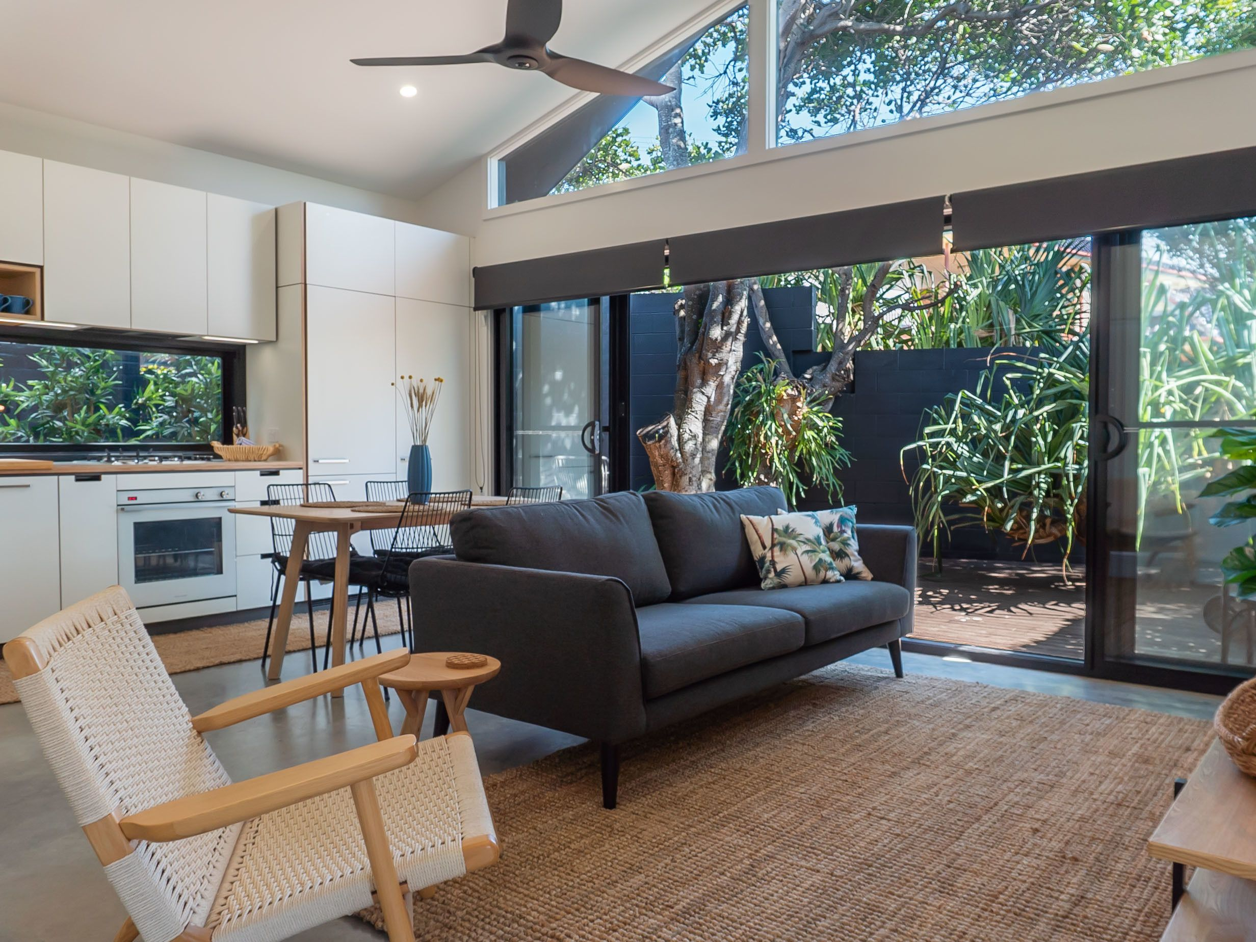Beach house in Sawtell NSW Australia across the road from