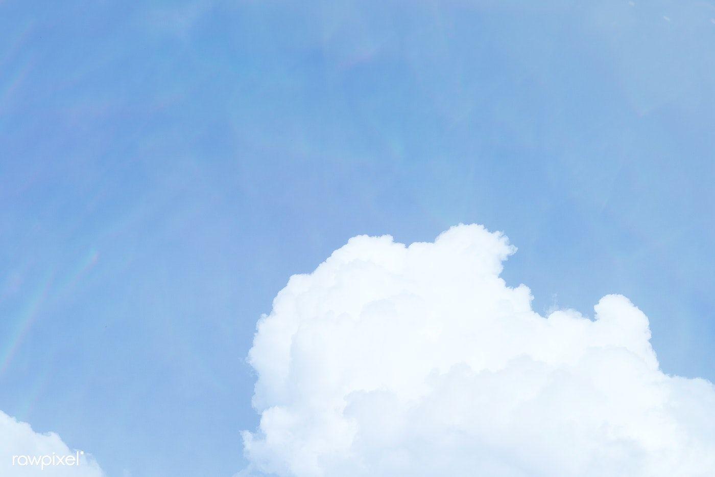 Download Premium Illustration Of Cloud Patterned Blue Sky Background Blue Sky Background Clouds Pattern Clouds