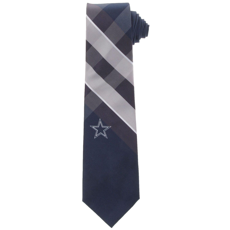 206a37537cee Men's Dallas Cowboys Woven Poly Grid Tie   DALLAS COWBOYS   Sports ...