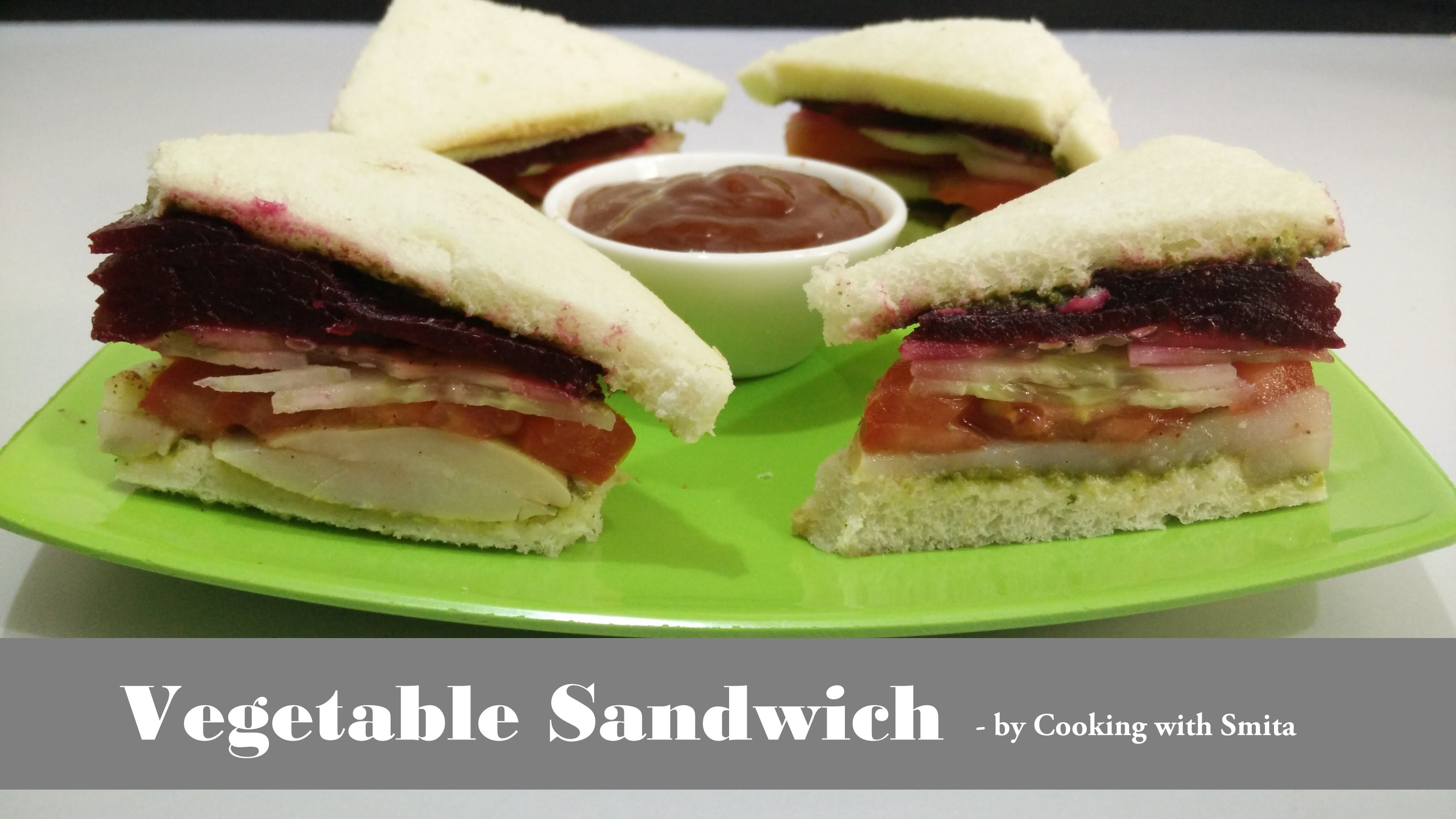 Vegetable sandwich recipe in hindi by cooking with smita vegetable sandwich recipe in hindi by cooking with smita sliced tomatoquick forumfinder Gallery