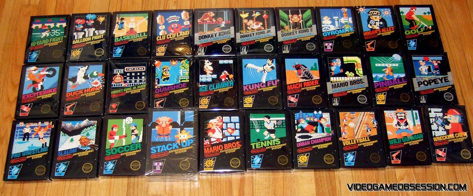 All NES Black Box games Nes games, Black box game, Game