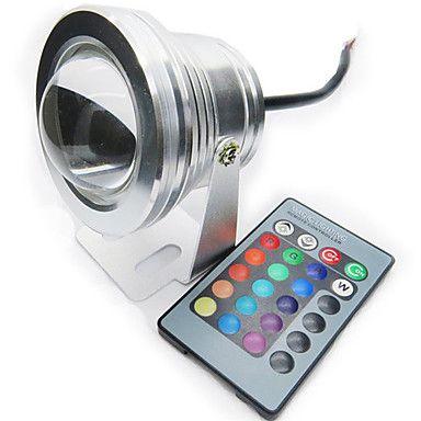 10w Rvb Pleine Couleur Etanche Ip68 Comprendre Lampe A Led Piscine De Projecteur De Lumiere 12v De 2982121 2017 A 16 99 Lampe Led Led Piscine Rectangulaire