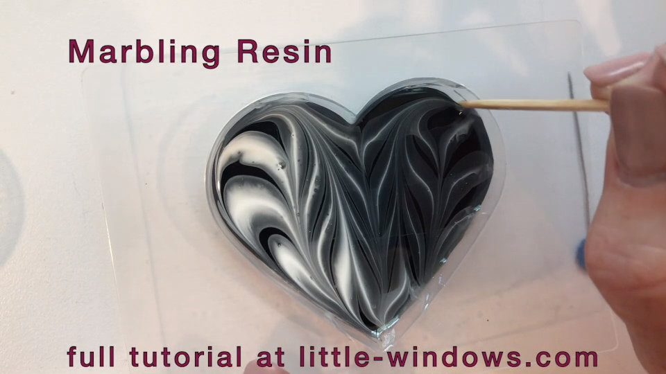 Photo of Black & White Resin Projects