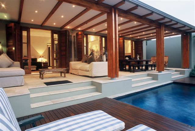 a luxurious tropical house design with an open plan i like open plan houses especially the ones with a pools in them